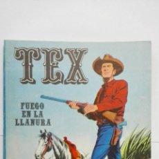 Cómics: TEX Nº 17, FUEGO EN LA LLANURA, EDICIONES BURU LAN, 1971. Lote 155378918