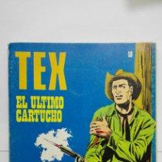 Cómics: TEX Nº 19, EL ULTIMO CARTUCHO, EDICIONES BURU LAN, 1971. Lote 155379406