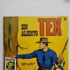 Cómics: TEX Nº 20, SIN ALIENTO, EDICIONES BURU LAN, 1971. Lote 155379738