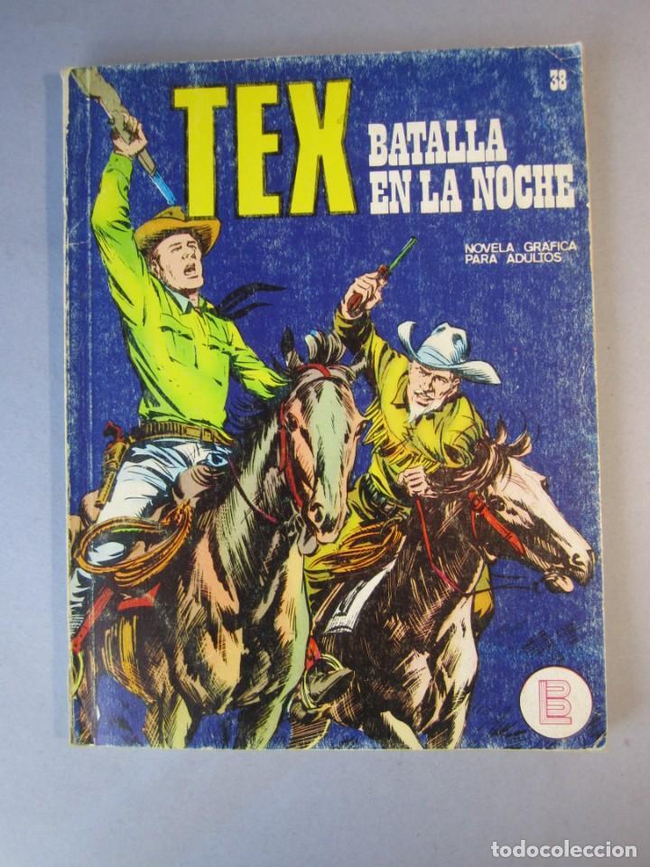 TEX (1970, BURU LAN) 38 · 1971 · BATALLA EN LA NOCHE (Tebeos y Comics - Buru-Lan - Tex)