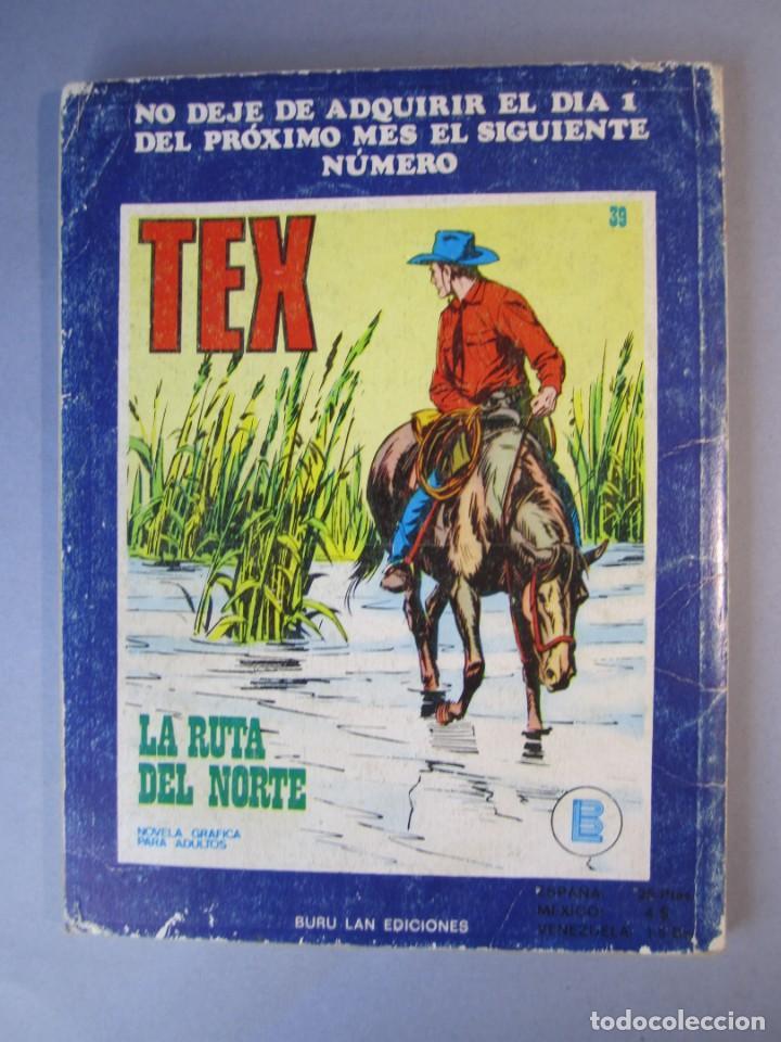 Cómics: TEX (1970, BURU LAN) 38 · 1971 · BATALLA EN LA NOCHE - Foto 2 - 155388774