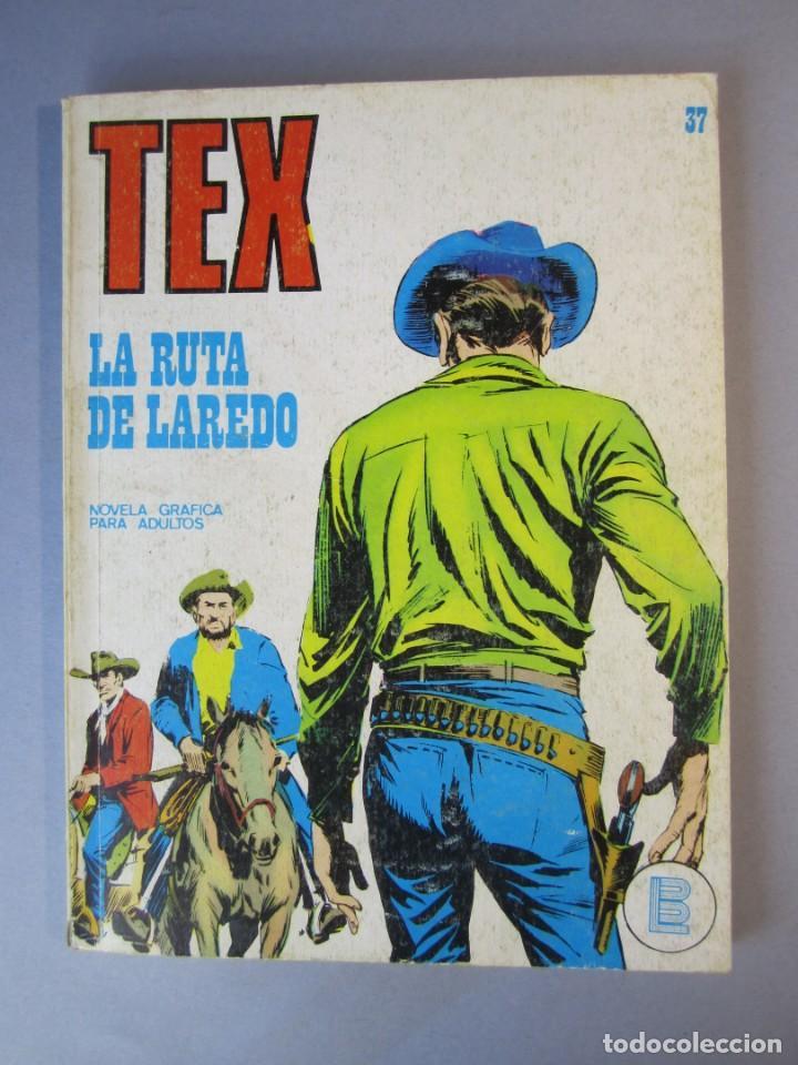 TEX (1970, BURU LAN) 37 · 1971 · LA RUTA DE LAREDO (Tebeos y Comics - Buru-Lan - Tex)