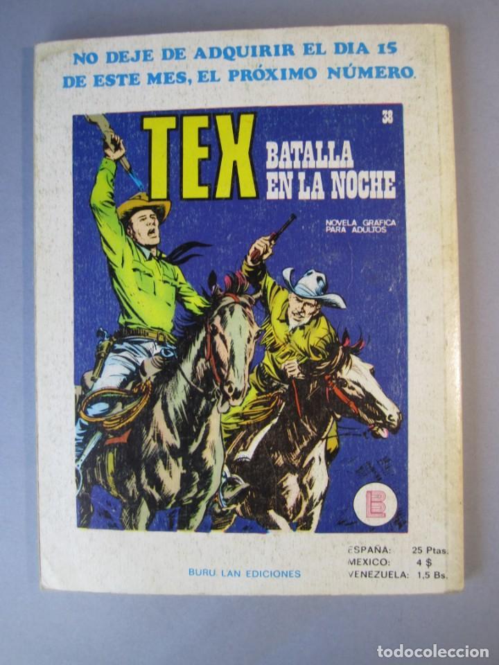 Cómics: TEX (1970, BURU LAN) 37 · 1971 · LA RUTA DE LAREDO - Foto 2 - 155390402