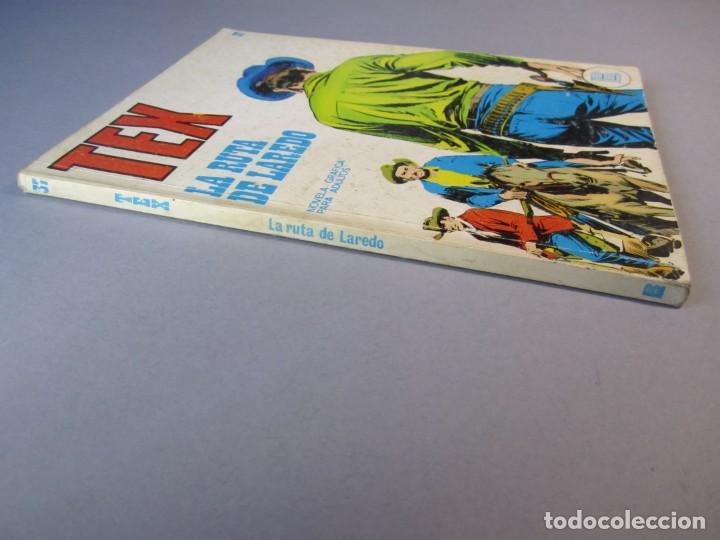 Cómics: TEX (1970, BURU LAN) 37 · 1971 · LA RUTA DE LAREDO - Foto 3 - 155390402