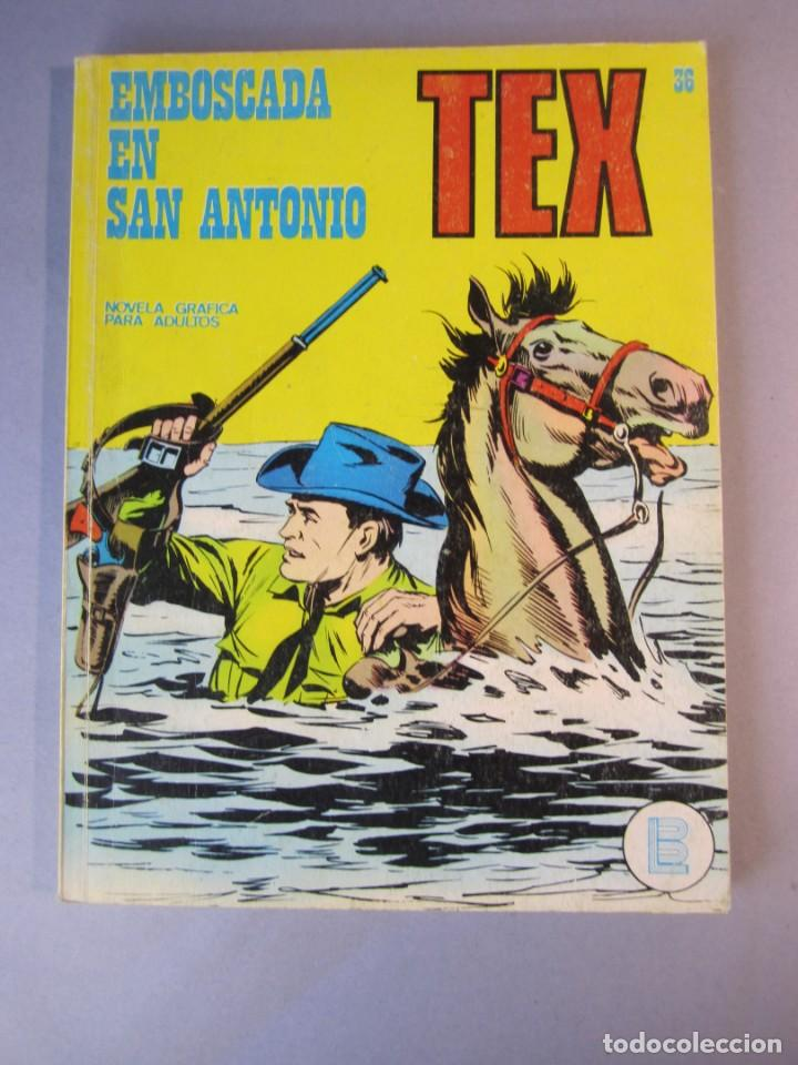 TEX (1970, BURU LAN) 36 · 1971 · EMBOSCADA EN SAN ANTONIO (Tebeos y Comics - Buru-Lan - Tex)