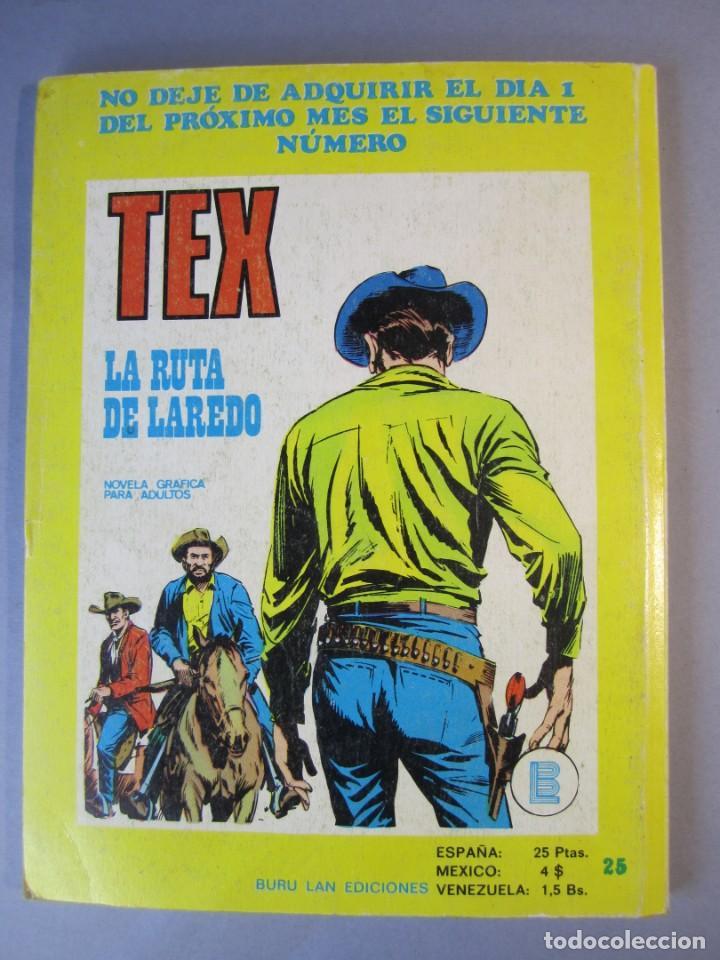 Cómics: TEX (1970, BURU LAN) 36 · 1971 · EMBOSCADA EN SAN ANTONIO - Foto 2 - 155390602