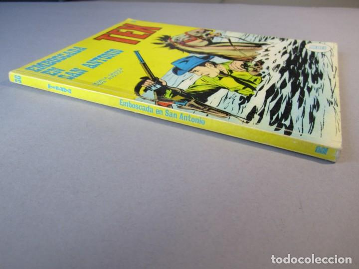 Cómics: TEX (1970, BURU LAN) 36 · 1971 · EMBOSCADA EN SAN ANTONIO - Foto 3 - 155390602