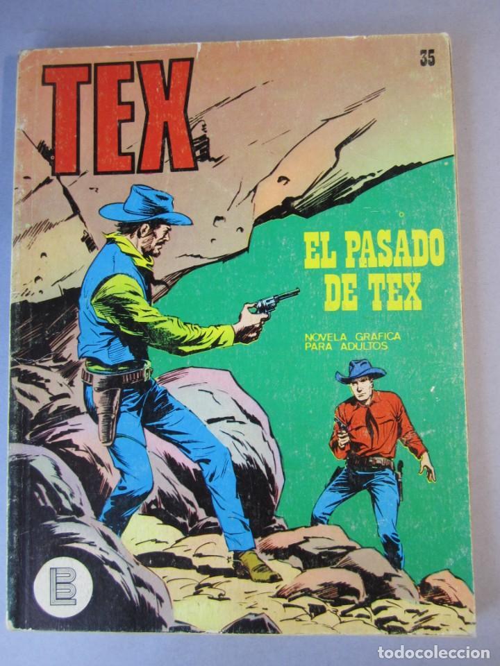 TEX (1970, BURU LAN) 35 · 1971 · EL PASADO DE TEX (Tebeos y Comics - Buru-Lan - Tex)