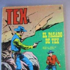 Cómics: TEX (1970, BURU LAN) 35 · 1971 · EL PASADO DE TEX. Lote 155392946