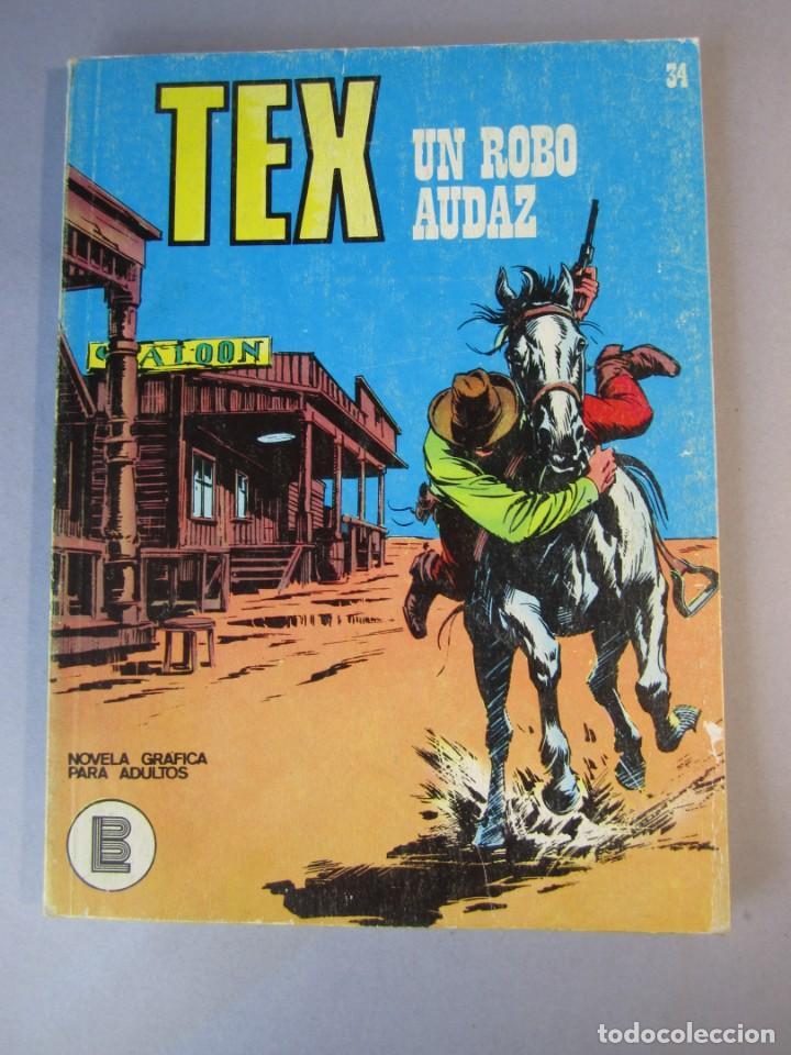 TEX (1970, BURU LAN) 34 · 1971 · UN ROBO AUDAZ (Tebeos y Comics - Buru-Lan - Tex)