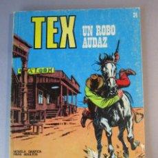 Cómics: TEX (1970, BURU LAN) 34 · 1971 · UN ROBO AUDAZ. Lote 155393358