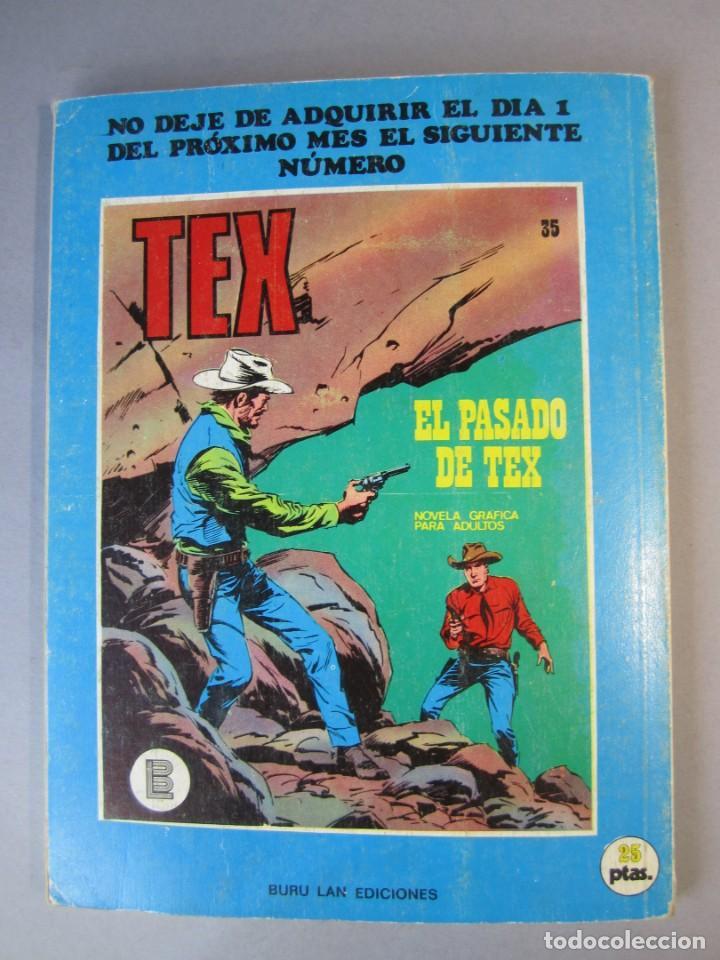 Cómics: TEX (1970, BURU LAN) 34 · 1971 · UN ROBO AUDAZ - Foto 2 - 155393358