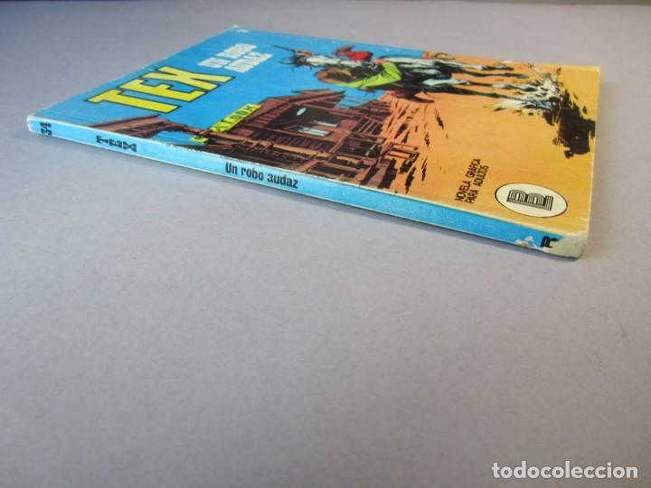 Cómics: TEX (1970, BURU LAN) 34 · 1971 · UN ROBO AUDAZ - Foto 3 - 155393358