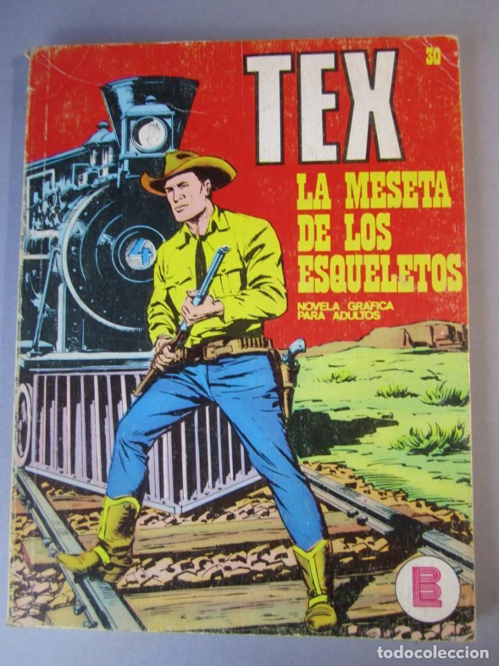 TEX (1970, BURU LAN) 30 · 1971 · LA MESETA DE LOS ESQUELETOS (Tebeos y Comics - Buru-Lan - Tex)
