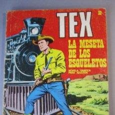 Cómics: TEX (1970, BURU LAN) 30 · 1971 · LA MESETA DE LOS ESQUELETOS. Lote 155393974