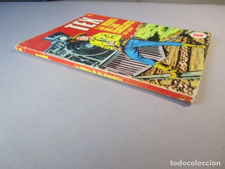 Cómics: TEX (1970, BURU LAN) 30 · 1971 · LA MESETA DE LOS ESQUELETOS - Foto 3 - 155393974