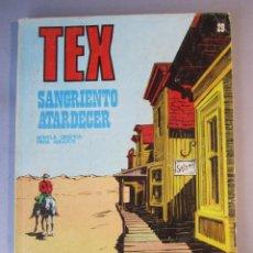 Cómics: TEX (1970, BURU LAN) 29 · 1971 · SANGRIENTO ATARDECER. Lote 155394306