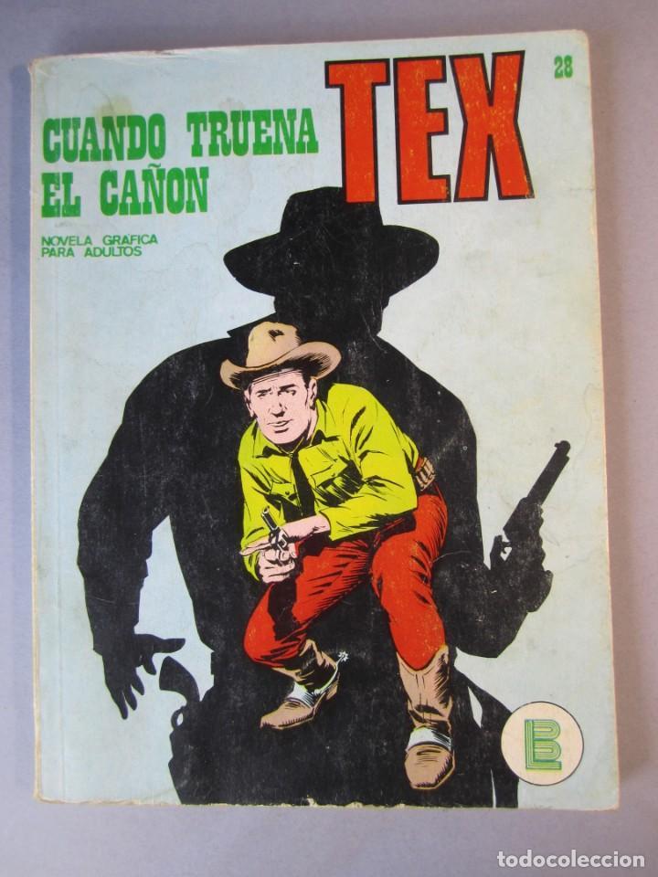TEX (1970, BURU LAN) 28 · 1971 · CUANDO TRUENA EL CAÑÓN (Tebeos y Comics - Buru-Lan - Tex)