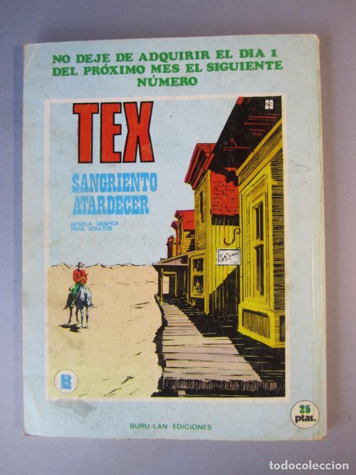 Cómics: TEX (1970, BURU LAN) 28 · 1971 · CUANDO TRUENA EL CAÑÓN - Foto 2 - 155394670