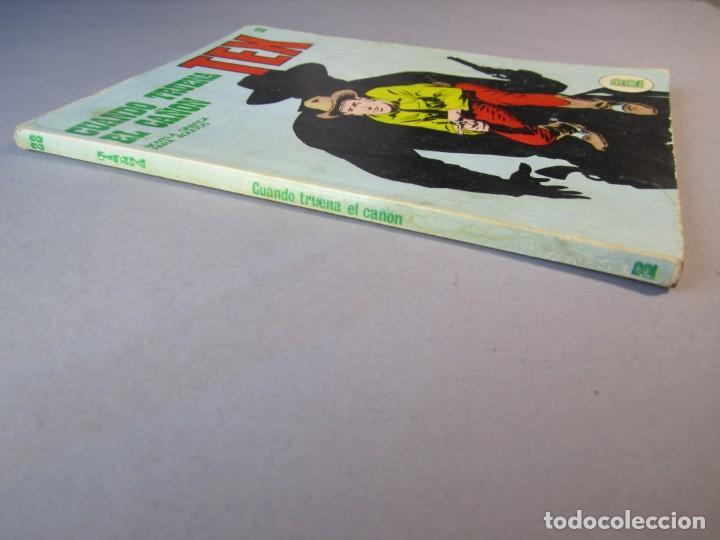 Cómics: TEX (1970, BURU LAN) 28 · 1971 · CUANDO TRUENA EL CAÑÓN - Foto 3 - 155394670