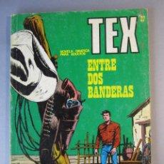 Cómics: TEX (1970, BURU LAN) 27 · 1971 · ENTRE DOS BANDERAS. Lote 155395266