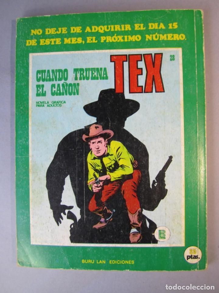 Cómics: TEX (1970, BURU LAN) 27 · 1971 · ENTRE DOS BANDERAS - Foto 2 - 155395266