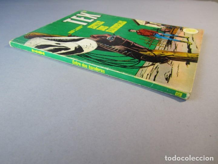 Cómics: TEX (1970, BURU LAN) 27 · 1971 · ENTRE DOS BANDERAS - Foto 3 - 155395266