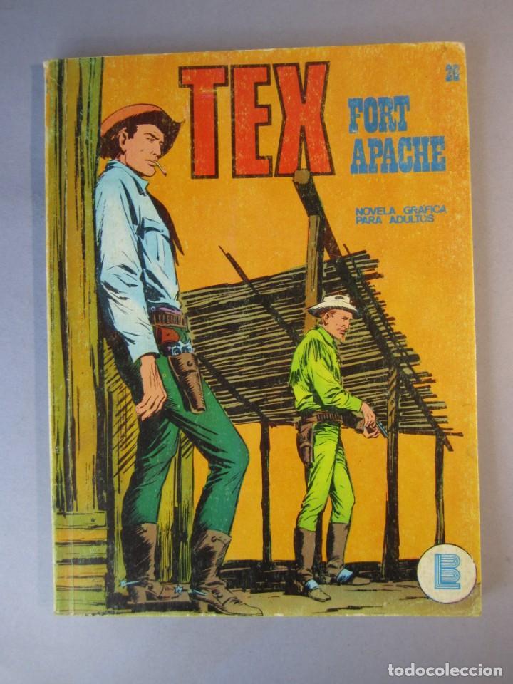 TEX (1970, BURU LAN) 26 · 1971 · FORT APACHE (Tebeos y Comics - Buru-Lan - Tex)