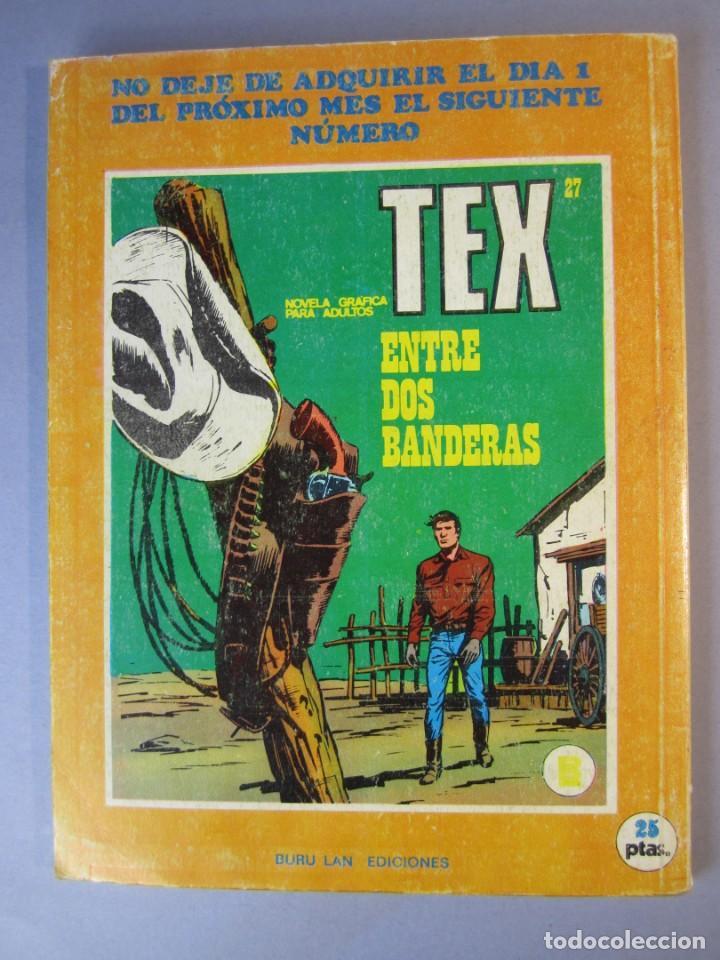 Cómics: TEX (1970, BURU LAN) 26 · 1971 · FORT APACHE - Foto 2 - 155395534