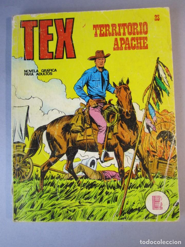 TEX (1970, BURU LAN) 23 · 1971 · TERRITORIO APACHE (Tebeos y Comics - Buru-Lan - Tex)