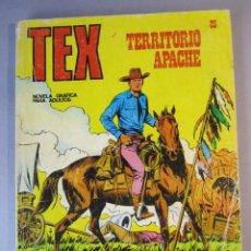 Cómics: TEX (1970, BURU LAN) 23 · 1971 · TERRITORIO APACHE. Lote 155395790