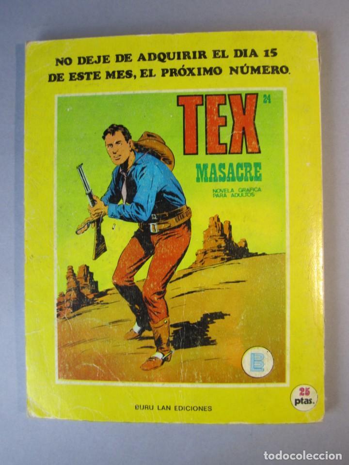 Cómics: TEX (1970, BURU LAN) 23 · 1971 · TERRITORIO APACHE - Foto 2 - 155395790
