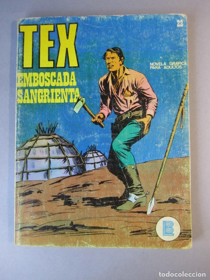 TEX (1970, BURU LAN) 22 · 1971 · EMBOSCADA SANGRIENTA (Tebeos y Comics - Buru-Lan - Tex)