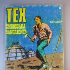 Cómics: TEX (1970, BURU LAN) 22 · 1971 · EMBOSCADA SANGRIENTA. Lote 155430510