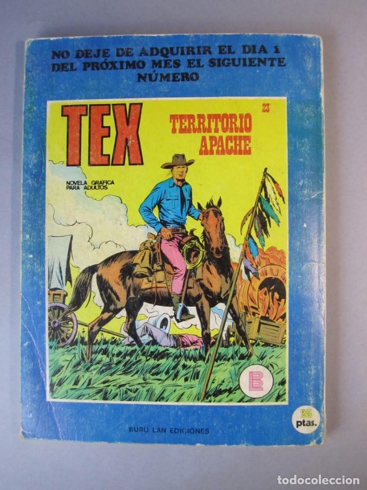 Cómics: TEX (1970, BURU LAN) 22 · 1971 · EMBOSCADA SANGRIENTA - Foto 2 - 155430510