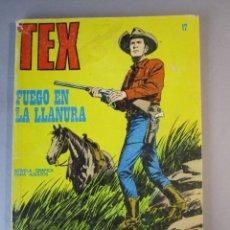 Cómics: TEX (1971, BURU LAN) 17 · 1971 · FUEGO EN LA LLANURA. Lote 155430994