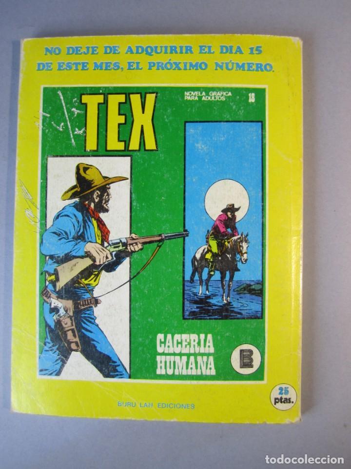 Cómics: TEX (1971, BURU LAN) 17 · 1971 · FUEGO EN LA LLANURA - Foto 2 - 155430994
