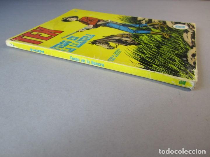 Cómics: TEX (1971, BURU LAN) 17 · 1971 · FUEGO EN LA LLANURA - Foto 3 - 155430994