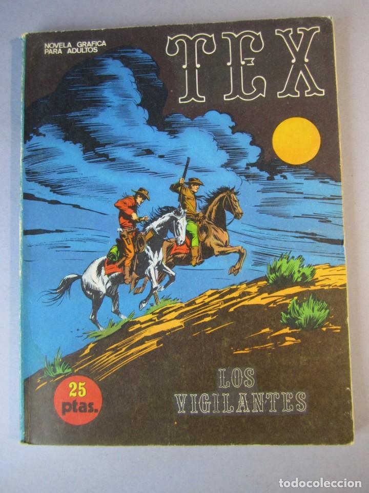 TEX (1970, BURU LAN) 16 · 1971 · LOS VIGILANTES (Tebeos y Comics - Buru-Lan - Tex)