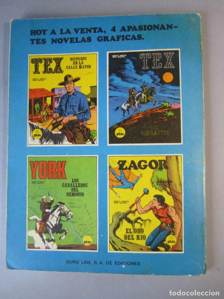 Cómics: TEX (1970, BURU LAN) 16 · 1971 · LOS VIGILANTES - Foto 2 - 155431042