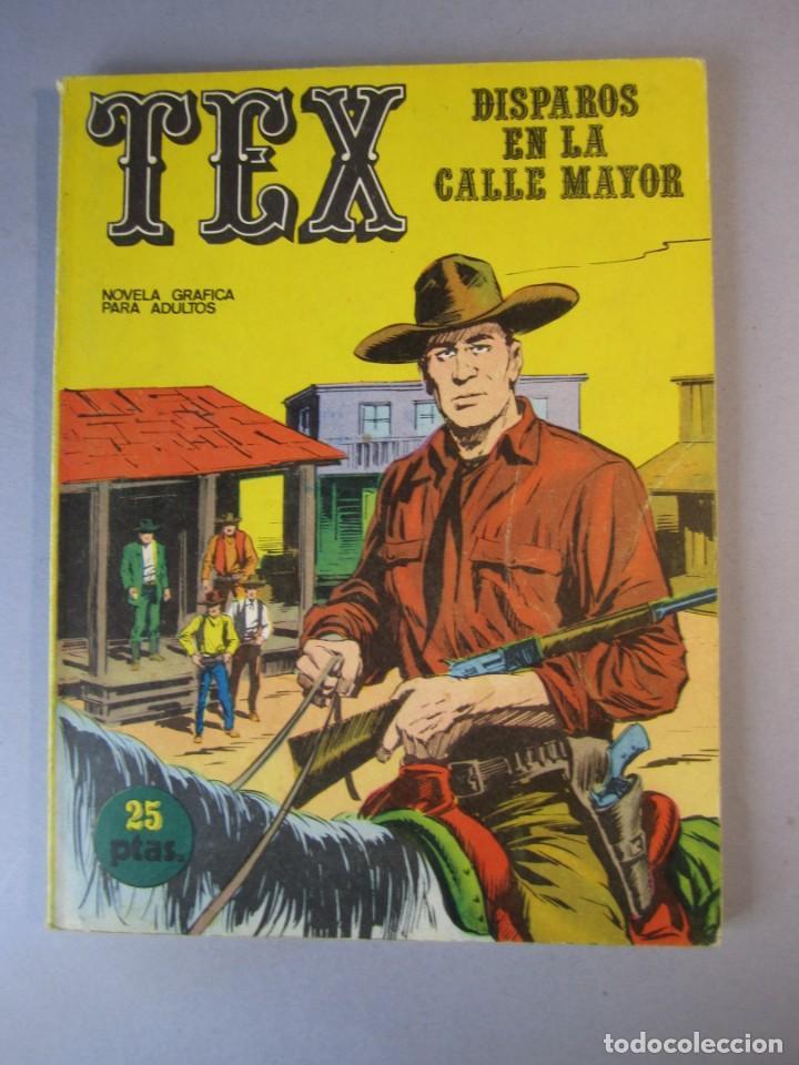TEX (1970, BURU LAN) 15 · 1971 · DISPAROS EN LA CALLE MAYOR (Tebeos y Comics - Buru-Lan - Tex)