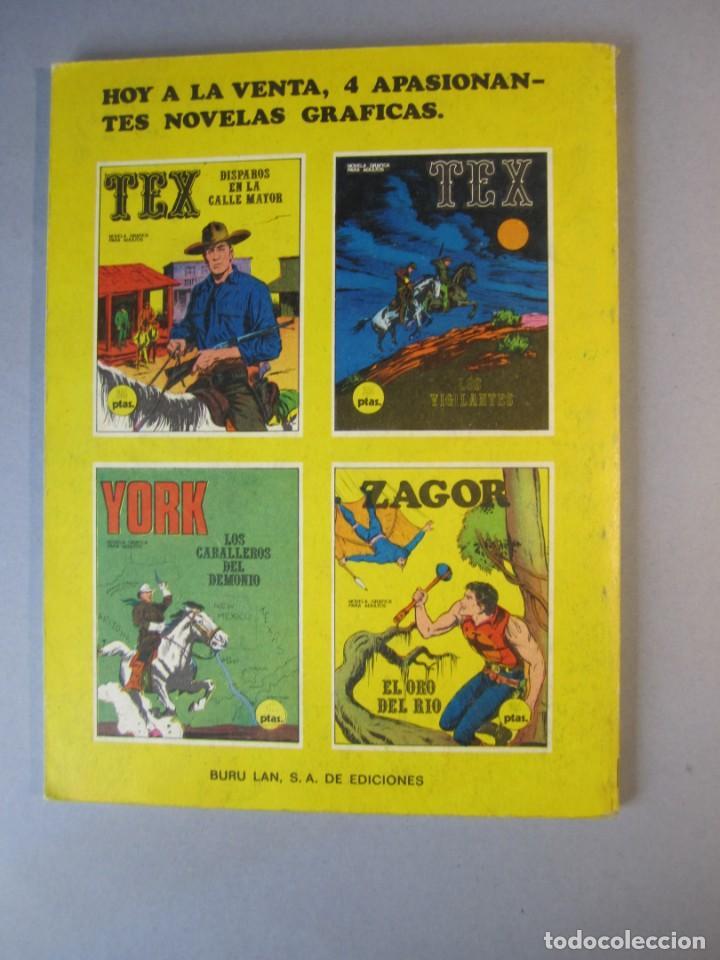 Cómics: TEX (1970, BURU LAN) 15 · 1971 · DISPAROS EN LA CALLE MAYOR - Foto 2 - 155431082