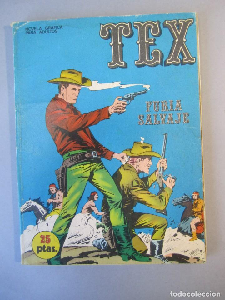 TEX (1970, BURU LAN) 14 · 1971 · FURIA SALVAJE (Tebeos y Comics - Buru-Lan - Tex)
