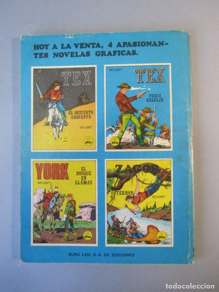 Cómics: TEX (1970, BURU LAN) 14 · 1971 · FURIA SALVAJE - Foto 2 - 155431122
