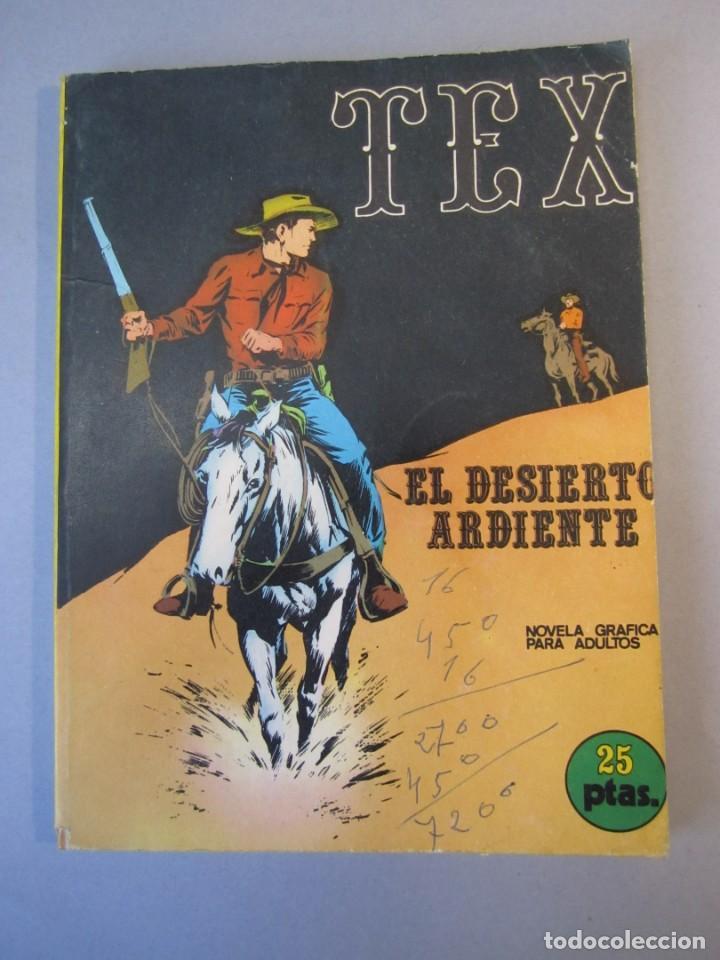 TEX (1970, BURU LAN) 13 · 1971 · EL DESIERTO ARDIENTE (Tebeos y Comics - Buru-Lan - Tex)