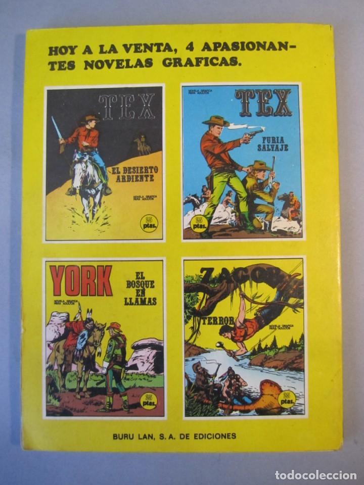 Cómics: TEX (1970, BURU LAN) 13 · 1971 · EL DESIERTO ARDIENTE - Foto 2 - 155431210