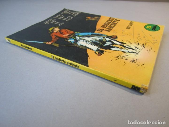 Cómics: TEX (1970, BURU LAN) 13 · 1971 · EL DESIERTO ARDIENTE - Foto 3 - 155431210