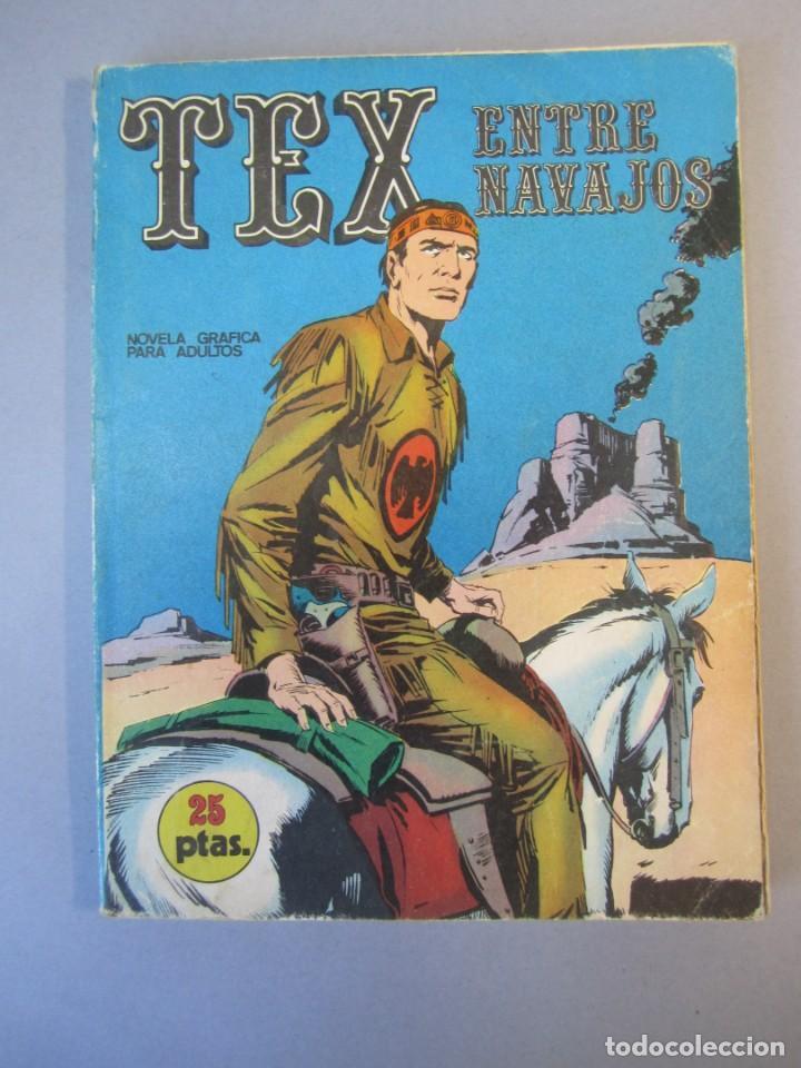 TEX (1970, BURU LAN) 12 · 1971 · ENTRE NAVAJOS (Tebeos y Comics - Buru-Lan - Tex)