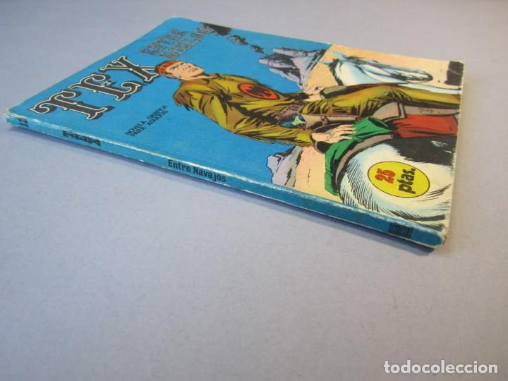 Cómics: TEX (1970, BURU LAN) 12 · 1971 · ENTRE NAVAJOS - Foto 3 - 155431382