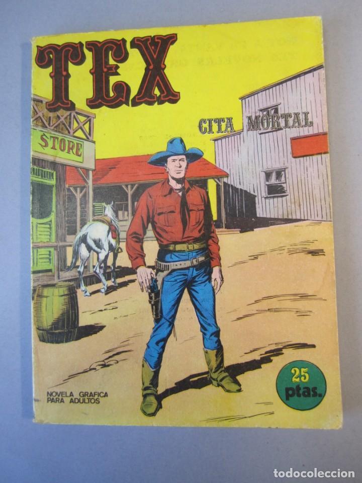 TEX (1970, BURU LAN) 11 · 1971 · CITA MORTAL (Tebeos y Comics - Buru-Lan - Tex)